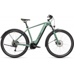 CUBE NATURE HYBRID ONE 500 Allroad green 2021